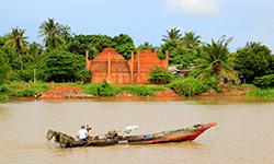 5-tägige Flussfahrt im Mekong-Delta an Bord der Gecko Eyes