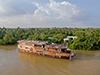 Le bateau - le Mekong Eyes