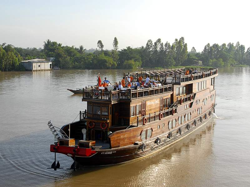 Mekong Eyes awarded with certificate of excellence by TripAdvisor for its Mekong delta cruise tours