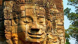 Scenic guided transfer from Phnom Penh to Angkor Wat including short tour of Angkor